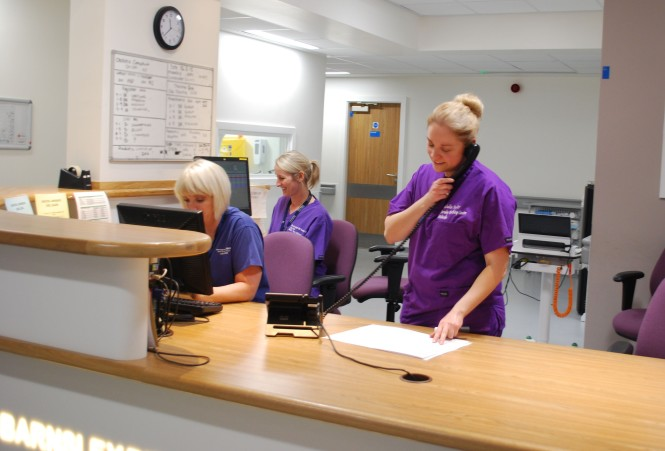 Barnsley Hospital Maternity Staff
