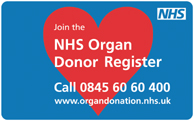 NHS Organ Donor Register