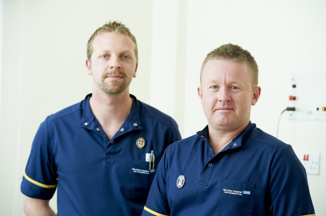 Scott and David, two of our Advanced Nurse Practitioners (ANP)