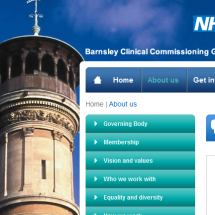 Featured article: NHS Barnsley Clinical Commissioning Group