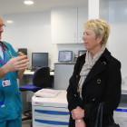 Featured article: MP sees hospital's work to manage winter pressures