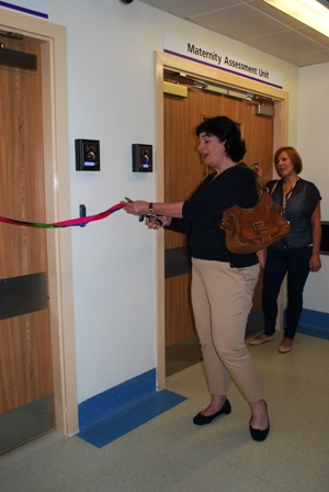 Joanne Harris MBE officially opening our centre