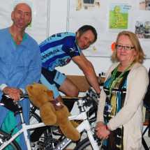Featured article: Team Anaesthetist cycle for Barnsley Hospital Charity