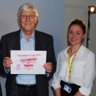 Featured article: Sir Michael Parkinson gets behind Tiny Hearts Appeal