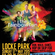 Featured article: Be a Rainbow Runner for Barnsley Hospital Charity