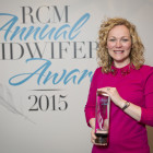 Featured article: Hospital midwife wins Royal College of Midwifery Innovation Award