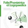 Folia Phoniatrica et Logopaedica Journal