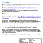 EC Service Summary Resource