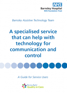 Image of Service Users Leaflet