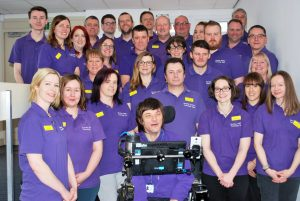 Image of the Barnsley AT Team