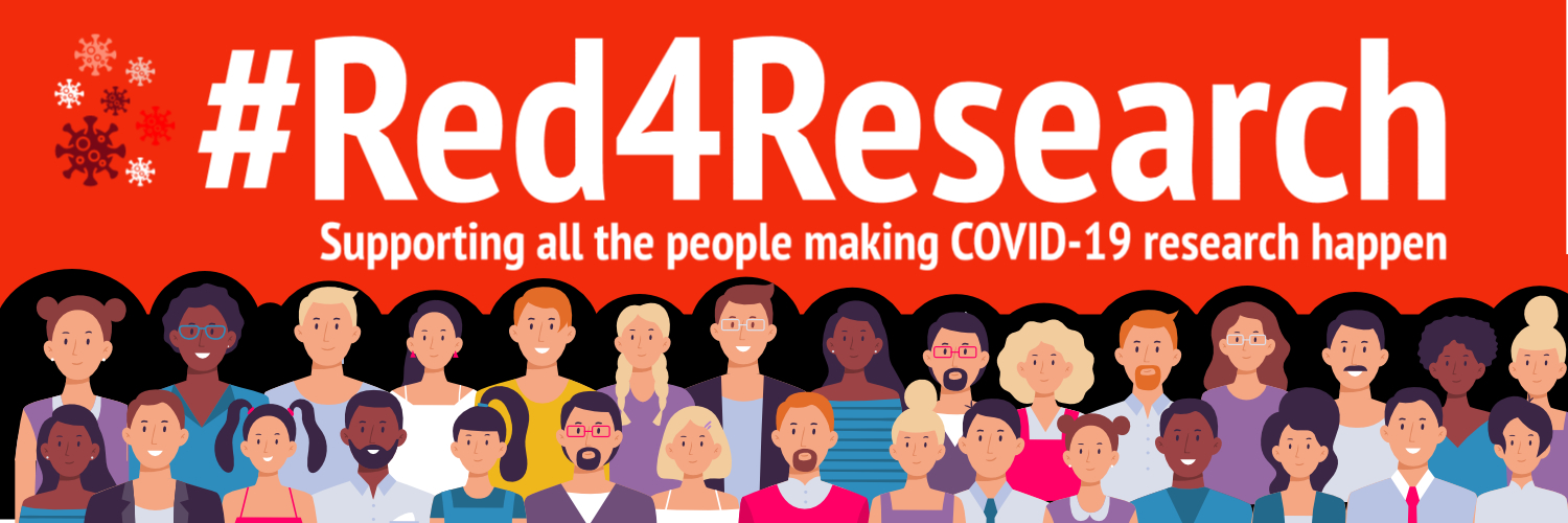 #Red4Research 18 June 2021. Make future research breakthroughs possible.  People like you have helped research to fight back against COVID-19.
