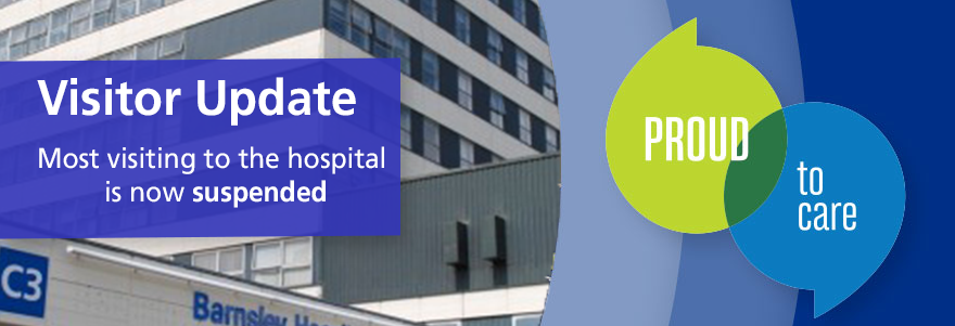 Click here for our latest information including exceptions. Visiting the hospital – Public message to friends and relatives of patients